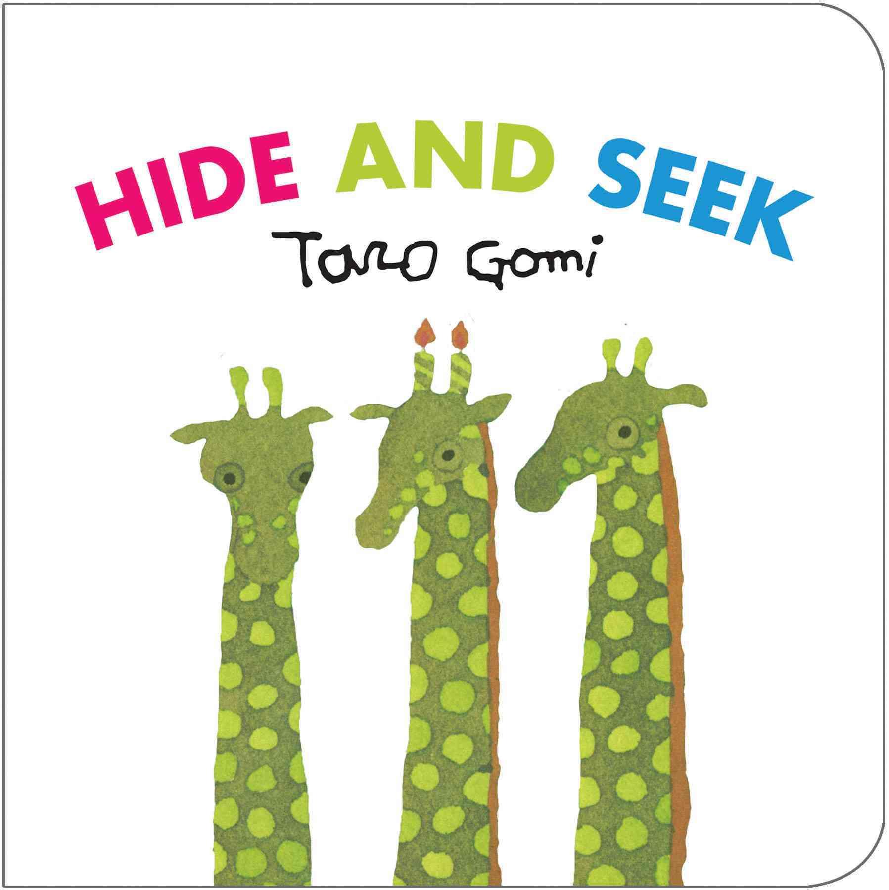 Hide and Seek By Gomi, Taro
